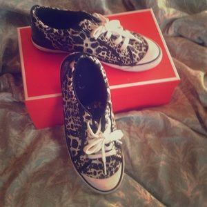 Coach Barrett Cheetah Print Shoes
